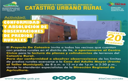 Catastro Urbano Rural